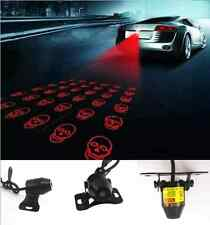 Car Truck Laser Light Lamp Anti Rear-End Crash Caution Tail Fog Skull Pattern