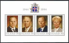 Iceland 1994 Presidents/Politicians/Politics/Government/People 4v m/s (n40353)