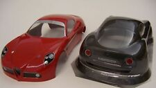 1/10 Scale Alfa Romeo 8c Speed Run body 200mm tamiya traxxas kyosho FT001/1.5