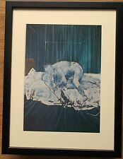 Francis Bacon print -12''x16'' Framed Francis Bacon print, Two Figures