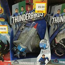 New Thunderbirds 1 Toy With Sound Effects & Retractable Wings Sale Are £9.99