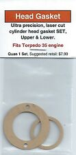 Torpedo .35 Cylinder Head Gasket Set of 2, Upper and Lower-NIP