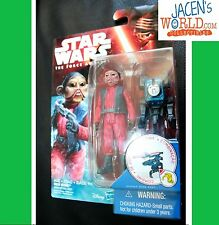 "Nien Nunb The Force Awakens Action Figure Star Wars 3.75"" Wave 3 5 Numb"