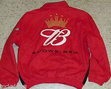 Dale Earnhardt Jr coat Budweiser Nascar Jacket #8 New sz XL Racing MINT nwt SALE