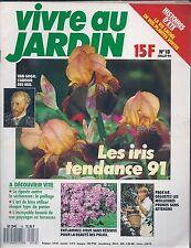 VIVRE AU JARDIN N° 18--IRIS/PAILLAGE/LES PHLOX/LES PRUNES