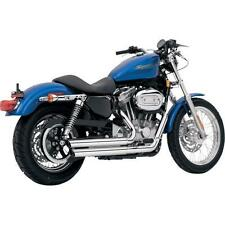 Vance Hines 2004-13 Sportster XL Q-Series DOUBLE BARREL Chrome Exhaust 1800-0586