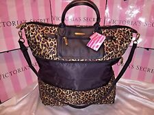 Victorias Secret Travel Luggage Bag Jet Set Foldable Expandable Tote Large