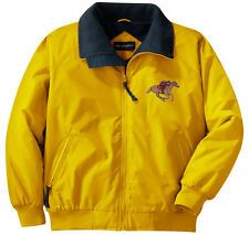Horse Racing Embroidered Jacket - Left Chest - Sizes XS thru XL
