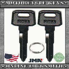 2 NEW UNCUT KEYS FOR YAMAHA MOTORCYCLES CODES: A32010-A79897- YH46 / YAMA-18I