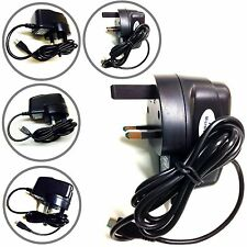 Micro Mains UK Charger Adaptor Plug 3 Pin For Samsung Galaxy Note 4 5 Blackberry