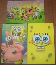 Lot of 3 SPONGEBOB MAILPANTS 1st Class Mail US Postage Paid USPS Jumbo Postcards