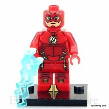 CUSTOM FLASH minifig DC Comics Supereroe accoppiamenti con LEGO xh295 UK SELLAR