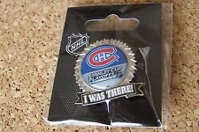 2015 Stanley Cup Playoffs I Was There pin NHL SC Montreal Canadiens