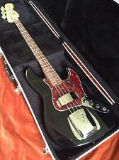 2007 Fender Jazz Bass & Hard Case. MiM Mexican