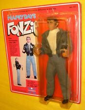"HARBERT FONZIE HAPPY DAYS 8"" CARD FIGURE TvBOX 21cm doll FONZ FONZARELLI WINKLER"