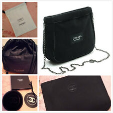 Set of 5-Chanel Black Crossbody/Cosmetic bag/Pouch/Mirror/Card Bag VIP Gift