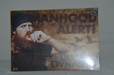 "DUCK DYNASTY METAL TIN SIGN 17""X12"" MANHOOD ALERT * NEW * FREE SHIPPING"