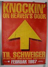 DS896 - GEROLLT 84x120 cm KNOCKIN ON HEAVENS DOOR Til Schweiger #PV