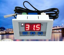DC 12V 10A LED Digital Temperature Controller Thermostat Control Switch Probe UK