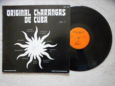 "LP VARIOUS ARTISTS ""Original Charangas De Cuba"" Produccion ESM OCC 101 FRANCE §"