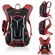 18L Outdoor Cycling camping  Shoulder Backpack Hydration Water Bag Red QA28
