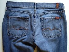Seven 7 For All Mankind Womens Sig Pocket Flare Jeans Sz 29 Jerome Dahan