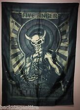 Five Finger Death Punch 5FDP Mercenary Textile Cloth Fabric Poster Wall Flag-New