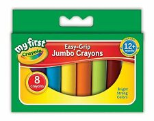 Crayola - 8 Jumbo Crayons Assorted Colours __81-8103-U-001