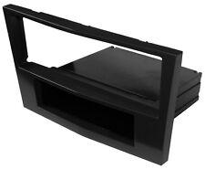 Adaptateur Autoradio Façade Cadre Réducteur 1DIN pour Opel Corsa D Zafira B noir