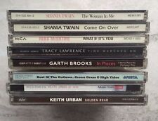 8 CD Mixed Lot of Country Music