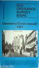 Old Ordnance Survey Maps Oswestry /Croes-oswallt Shropshire 1901 S 12.14 New Map