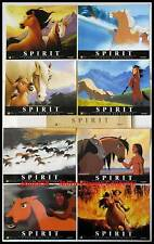 SPIRIT, L'ETALON DES PLAINES - Dreamworks - JEU DE 8 PHOTOS / 8 FRENCH LC