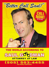 Better Call Saul: The World According to Saul Goodman - New Hardback  Book