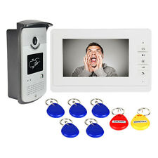 Hot Wired Video Door Phone Intercom Entry System Monitor IR Camera CO