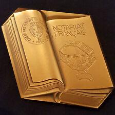A0362 - Médaille NOTARIAT FRANCAIS Caisse des Dépôts et Consignations 1983