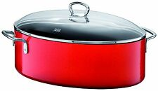 WMF Silit Passion Colors Roasting Pan With Lid Energy Red 8.5 qt Made in Germany