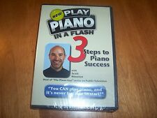 PLAY PIANO IN A FLASH 3 Steps to Piano Success Scott Houston PBS Playing DVD NEW