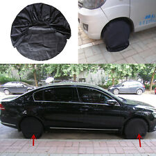 "Set Of 4 Wheel Tire Covers to 28"" Diameter For RV Trailer Camper Car SUV Truck"