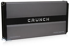Crunch PD 4000.2 Pro Power 4000W Power Drive 4-Channel Class AB Car Amplifier