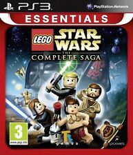 New LEGO Star Wars The Complete Saga Essentials (PS3, Playstation 3)