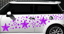 93 Sterne Star Auto Aufkleber Set Sticker Tuning Shirt Stylin WandtattooTribel g