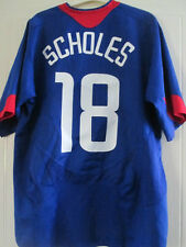 Manchester United 2004-2005 Scholes 18 Away Football Shirt Size Large  /37577