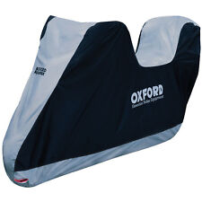 Oxford Aquatex Essential Motorcycle Motorbike Cover + Top Box CV201 Scooter  - T