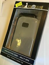 Nokia Lumia 710 Fitted Soft Cases + Screen Protector. Brand New in Original Pack