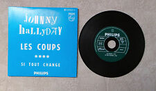 "CD AUDIO MUSIQUE FR / JOHNNY HALLYDAY ""LES COUPS"" 2006 CD SINGLE 2T FRENCH"