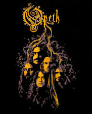OPETH cd lgo HERITAGE ROOTS FACES Official SHIRT XL new