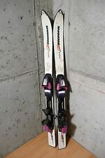 Kid skis Vintage Rossignol Racing JR 100 cm Salomon Series 3 bindings