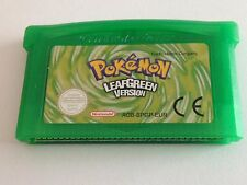 Pokemon Leaf Green For Nintendo Gameboy Advance GBA Worldwide Fast Post! Unboxed