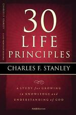 30 Life Principles by Charles F. Stanley (2008, Paperback)