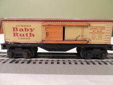 LIONEL # 2679 LIONEL LINES CURTISS BABY RUTH CANDY BOXCAR  (PRE WAR)